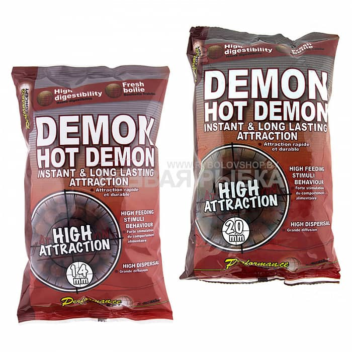 Бойлы Starbaits Hot Demon